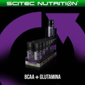 BCAA+glutamine порционные бутылочки