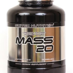 Гейнер MASS 20 Scitec Nutrition 4000г