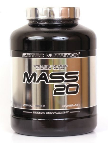 Гейнер MASS 20 Scitec Nutrition 4000г