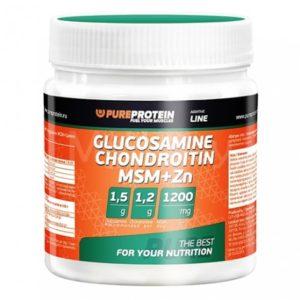 Глюкозамин, хондроитин сульфат и MSM PureProtein
