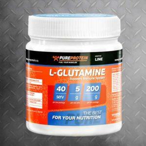 Глютамин PureProtein 200г