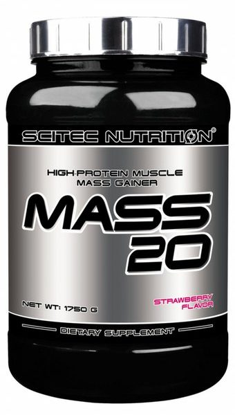 Гейнер Scitec Nutrition Mass 20
