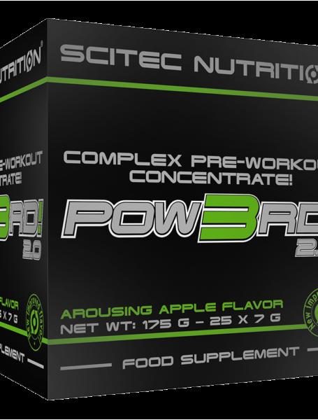 Предтренировочный концентрат Scitec Nutrition Pow3rd! 2.0