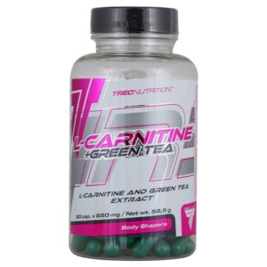 TRECNUTRITION L-CARNITINE+GREEN TEA 90 капсул