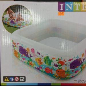Детский бассейн Intex «Морской Аквариум» 159х159х50см «57471NP»