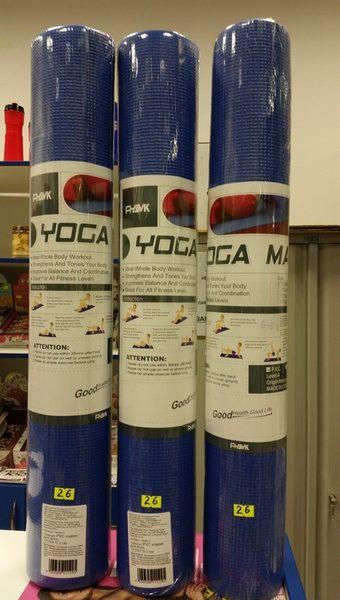 """PVC коврик для йоги, 173*61*0.3 см """"HKEM112"""""""