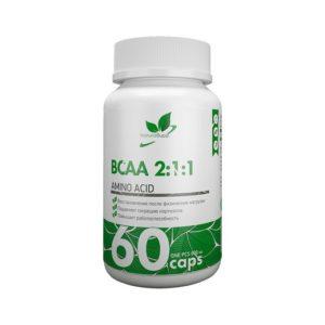 Комплексная пищевая добавка NaturalSupp ВСАА 2:1:1, 60 таблеток
