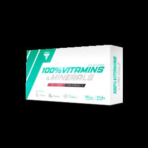 TREC 100% VITAMINS MINERALS (60 капсул.)